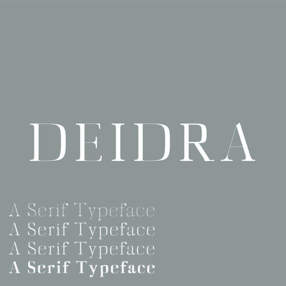 Diedra Serif Typeface