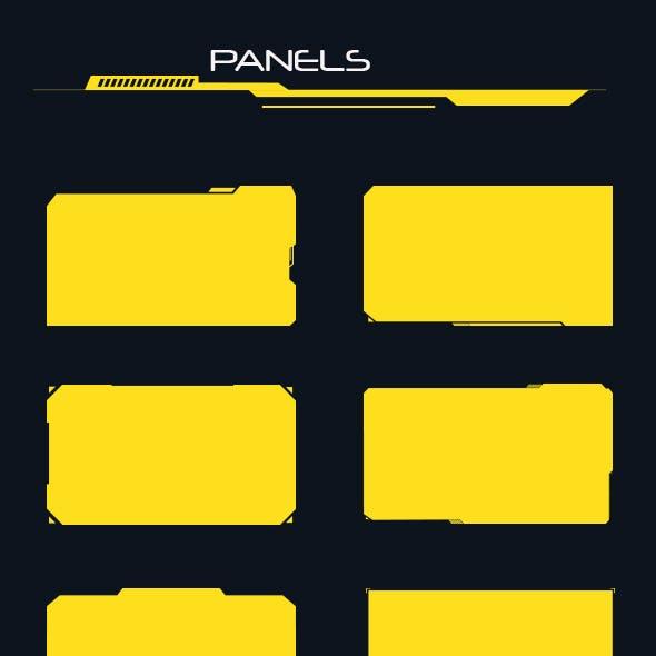 39 Hi-tech Panels Custom Shapes