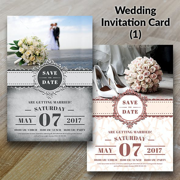 Wedding Invitation Card Bundle