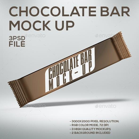 Chocolate Bar Mock-Up