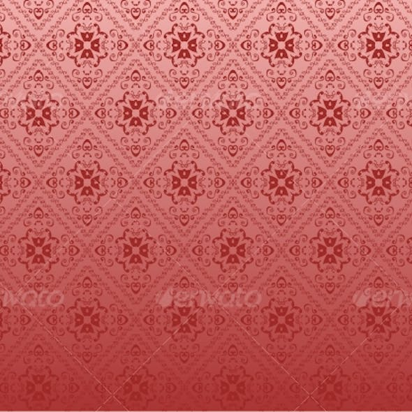 Red seamless background