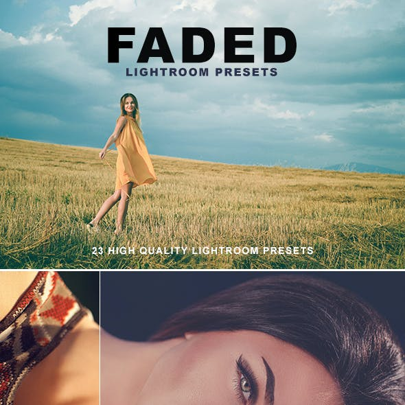 Faded Lightroom Presets