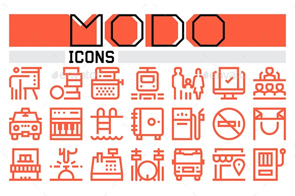 Modo Icons Collection - Icons