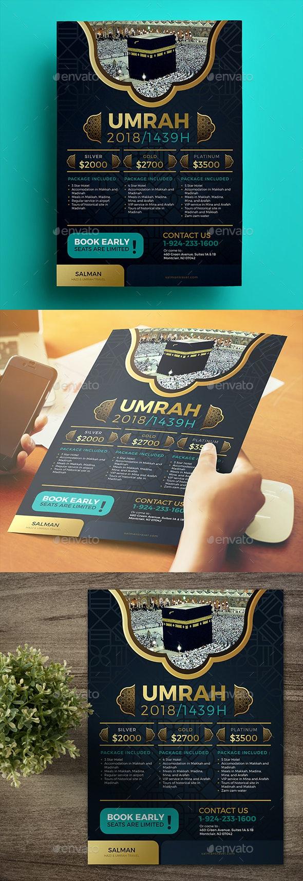 Umrah Flyer - Commerce Flyers