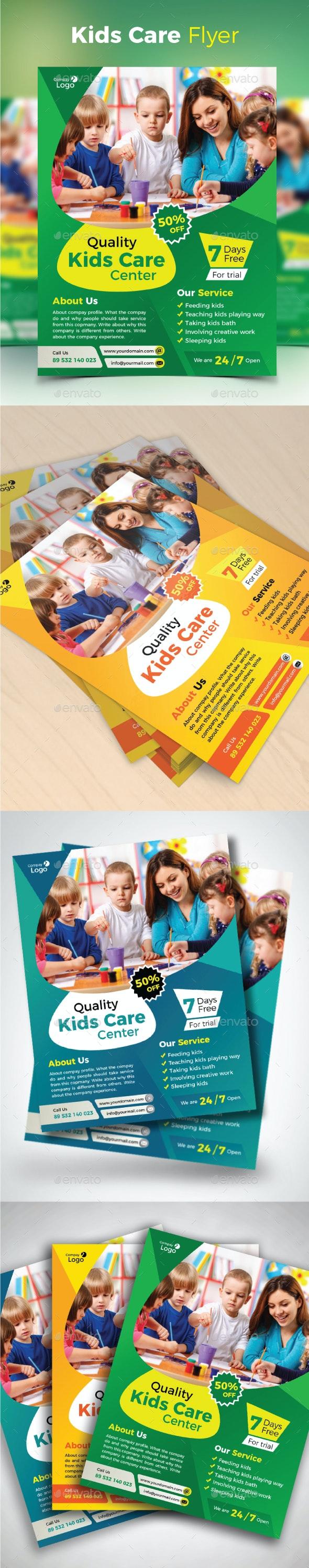 Kids Care Flyer - Corporate Flyers