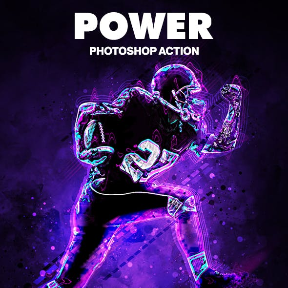 Power Photoshop Action