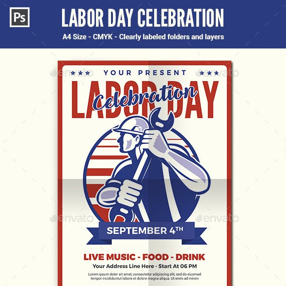 Labor Day Flyer / Poster Template