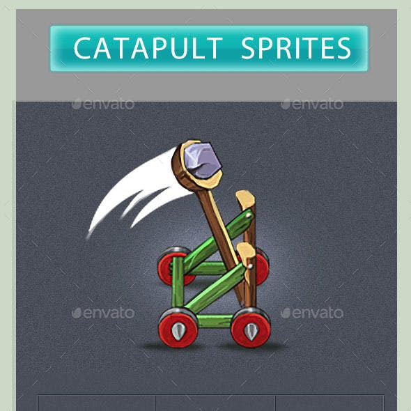 Game Assets - Catapult