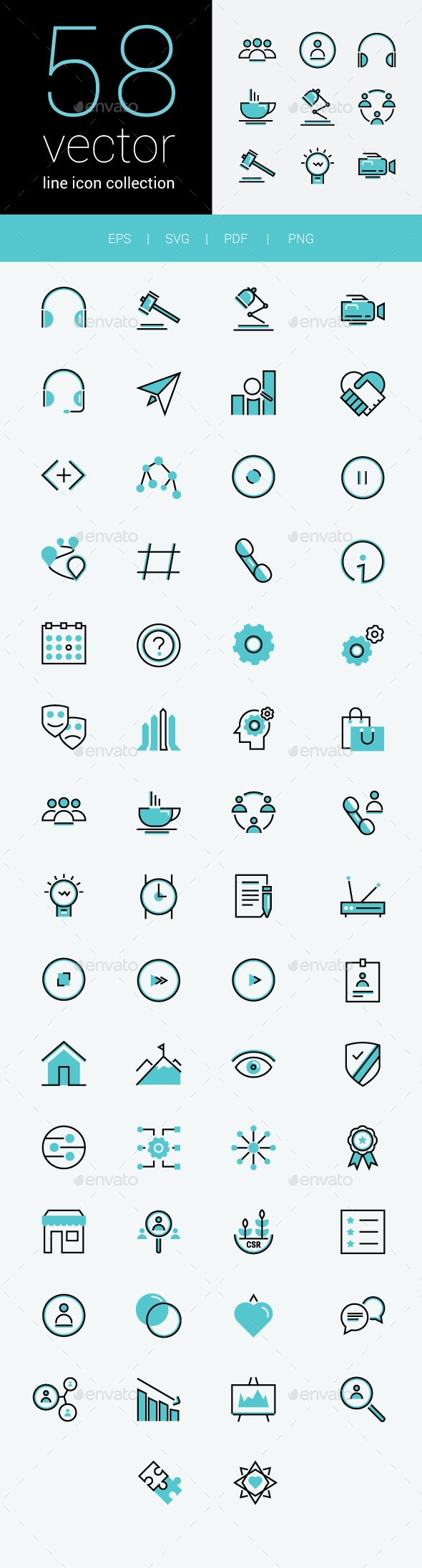 BPO (Business process outsourcing) Icon Collection - Icons