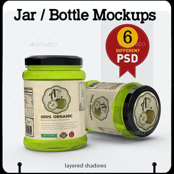 Jar / Bottle Mock Up