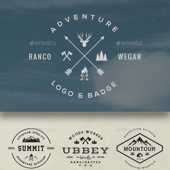 Adventure Logo & Badge