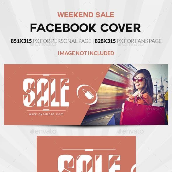 Weekend Sale Facebook Cover
