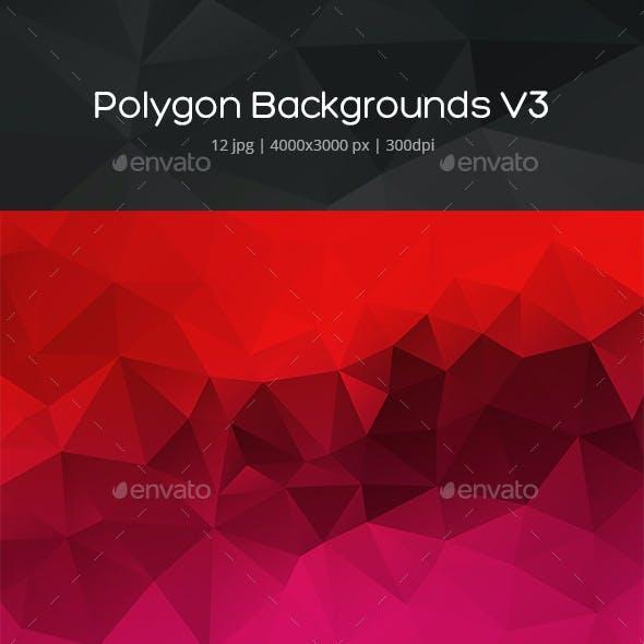 Polygon Backgrounds v3