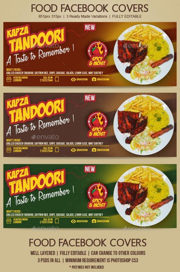 Food and Restaurant Facebook Cover - Facebook Timeline Covers Social Media