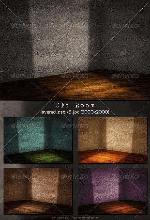 Old Room - 3D Backgrounds