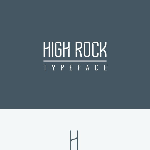 High Rock Typeface