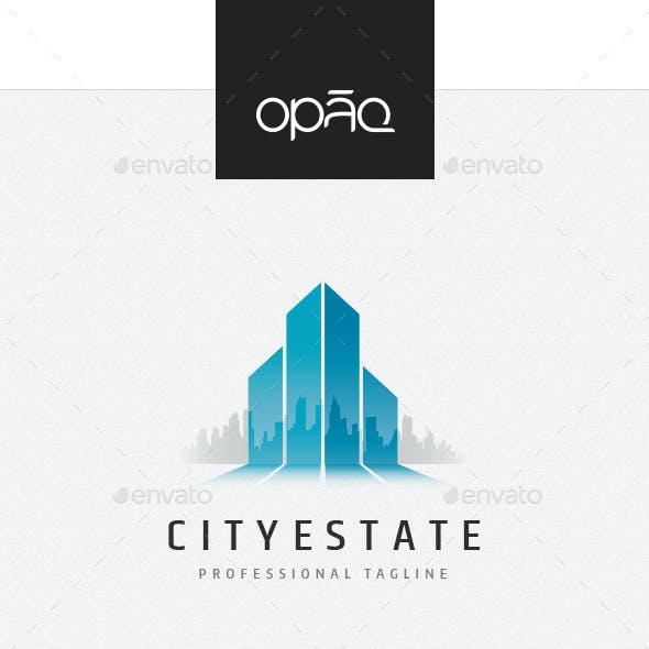 City Estate Buildings Logo