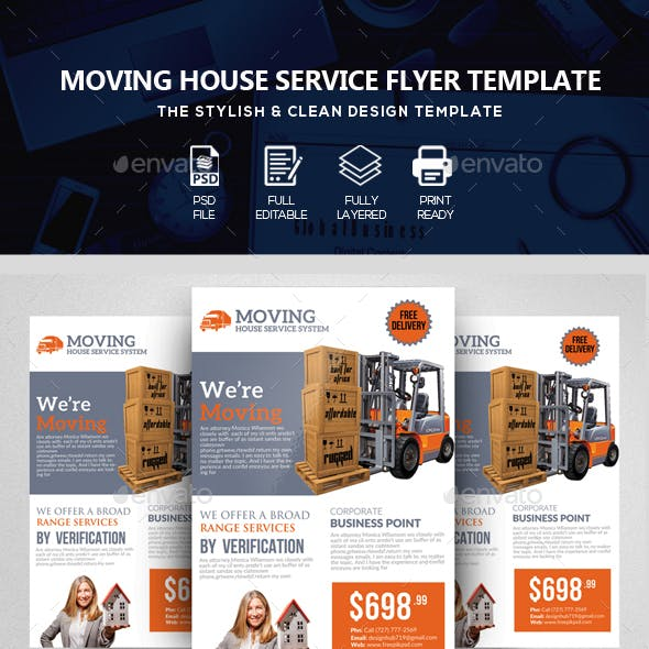 Moving House Flyers