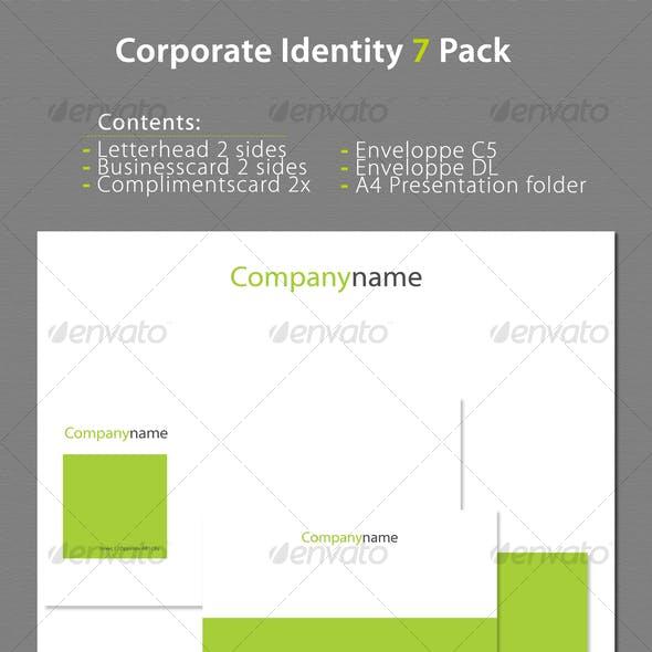 Corporate Identity 7 Pack