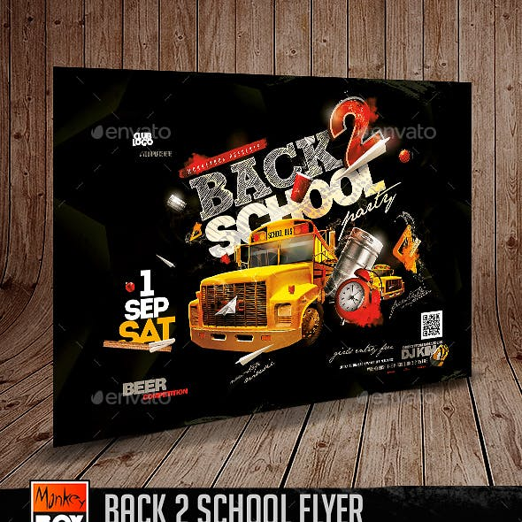 Back 2 School Flyer