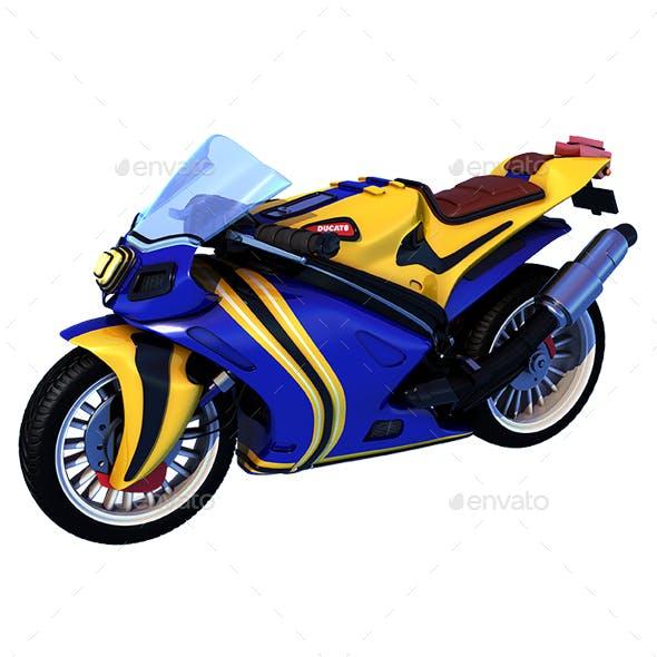 Cartoon Superbike