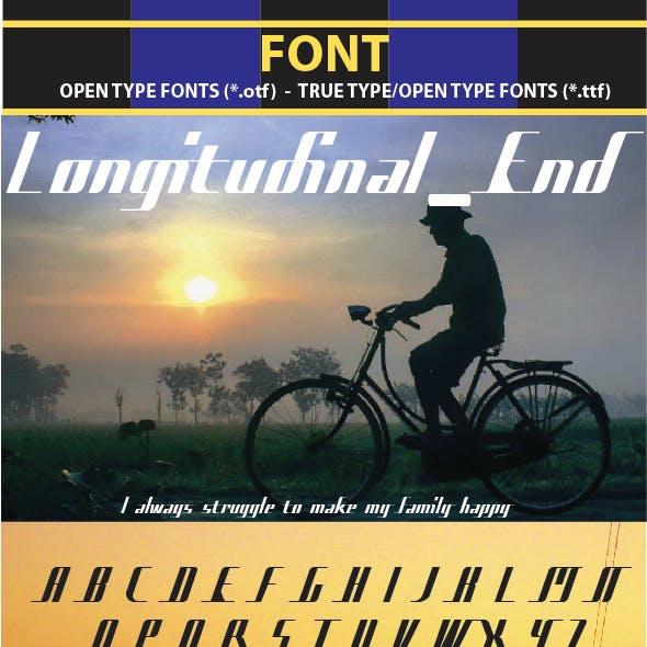 Longitudinal End