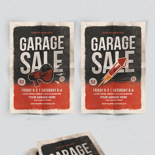 Gerage sale flyer