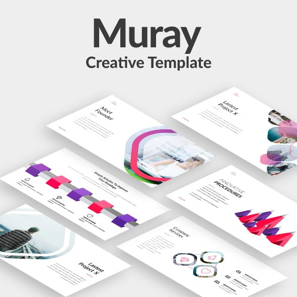 Muray Creative Powerpoint Template