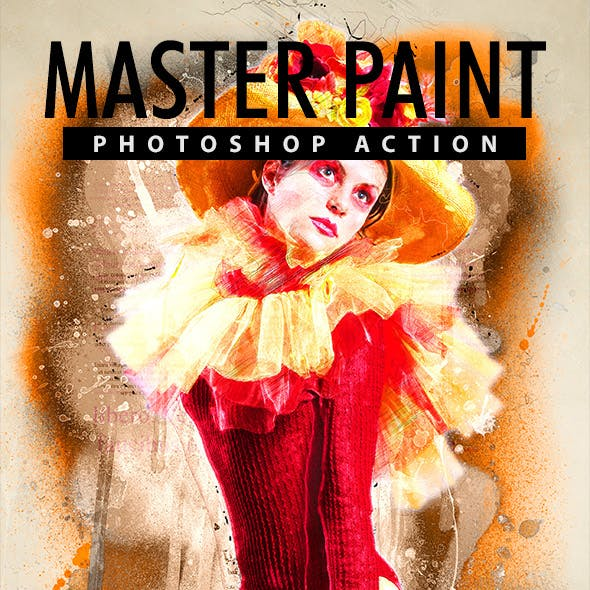 Master Paint Photoshop Action