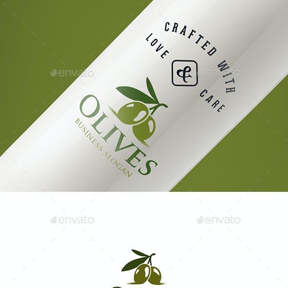 Olives Branch Natural Olive Logo