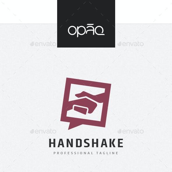 Deal Handshake Logo