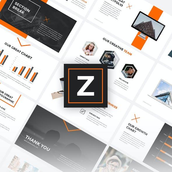 Zona - Creative PowerPoint Template