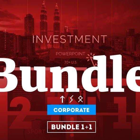 Bundle 1+1 Powerpoint Corporate