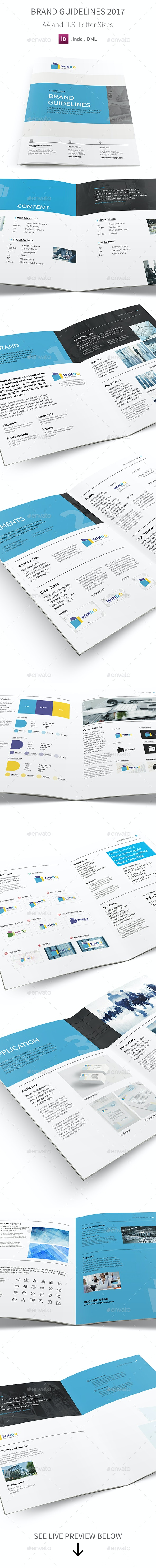Brand Identity Guidelines 2017 - Informational Brochures