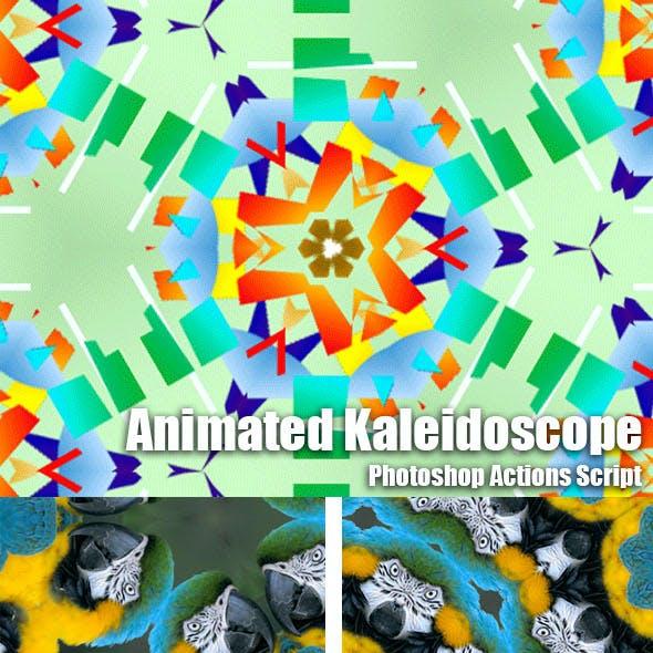 Animated Kaleidoscope Photoshop Add-on