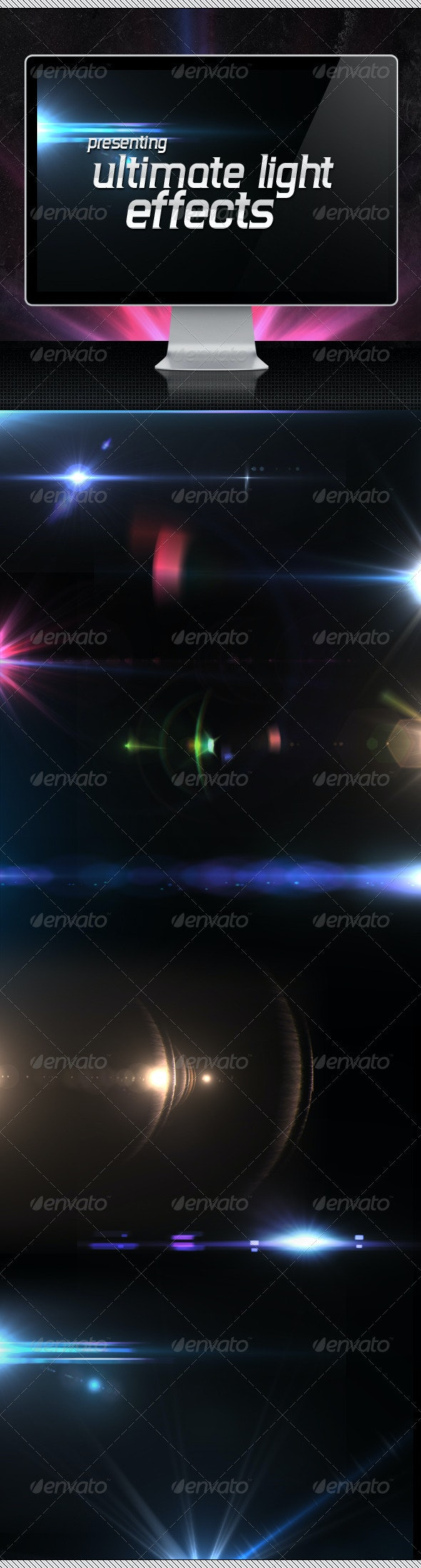 25 Ultimate Light Effects Volume 1 - Decorative Graphics