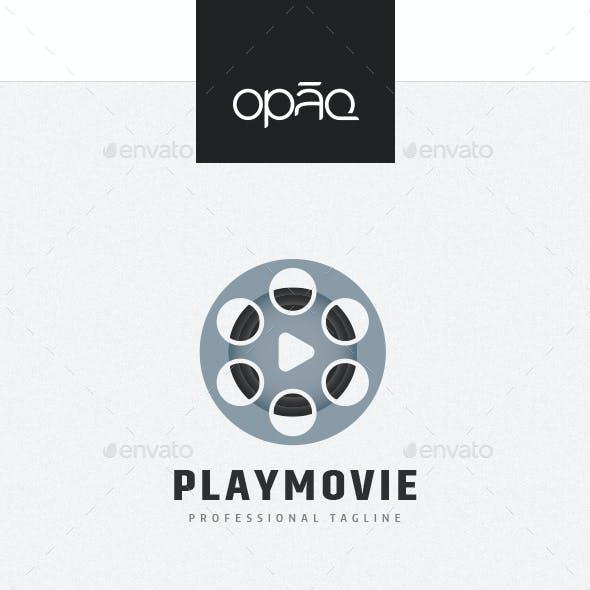 Play Movie Reel Logo