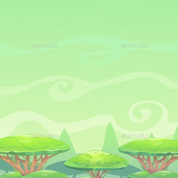 Fantasy Cartoon Landscape