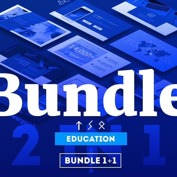 Bundle 1+1 PowerPoint Education