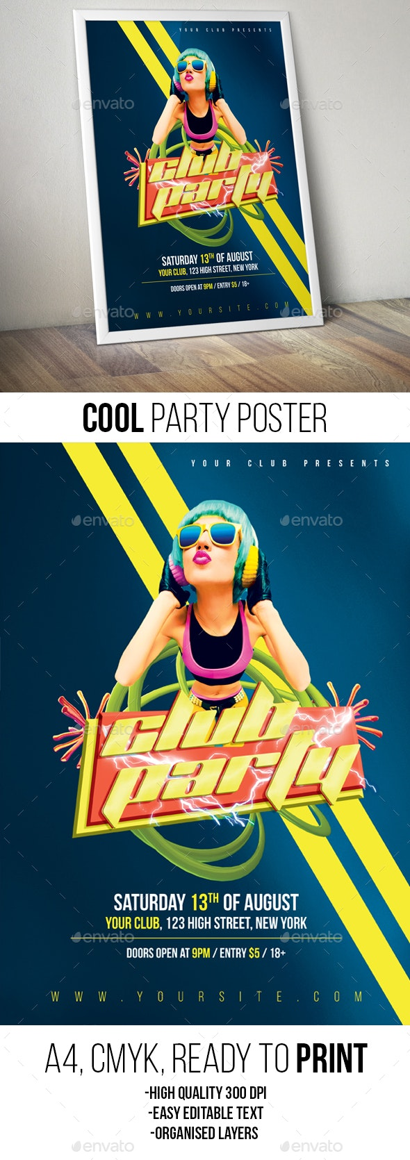 Party Poster / Flyer - Clubs & Parties Events