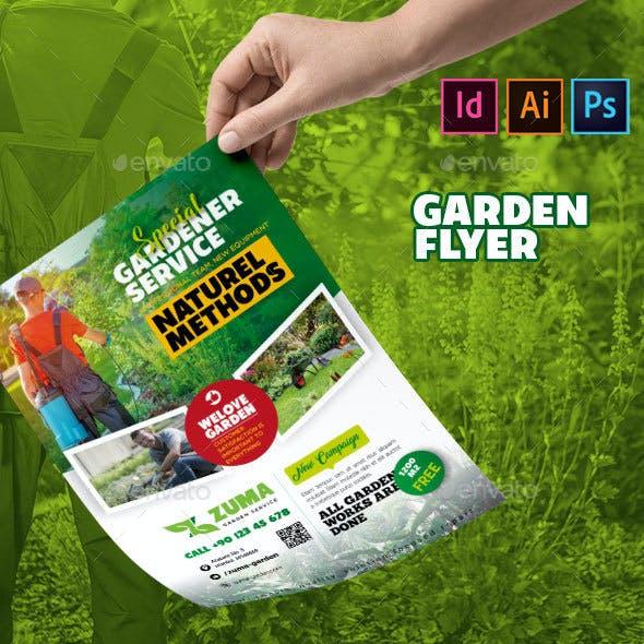 Garden Flyer Template