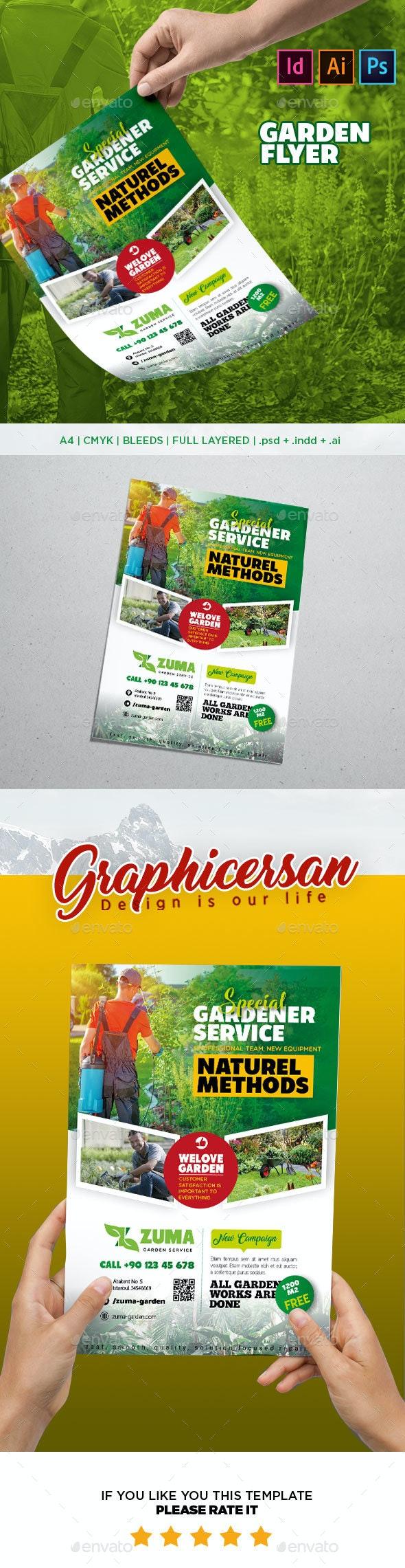Garden Flyer Template - Corporate Flyers