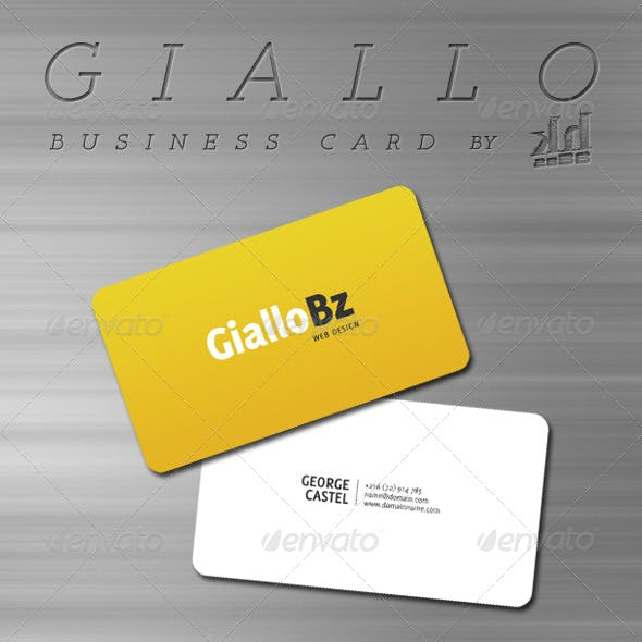 Giallo - Business Card