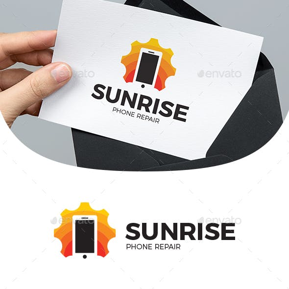 Sunrise Phone Repair Logo