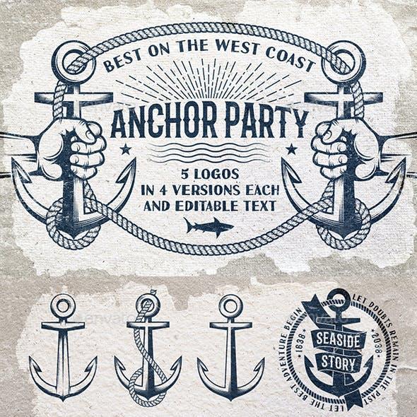 Anchor Nautical Symbols