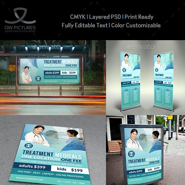 Medical Care Advertising Bundle Vol.2