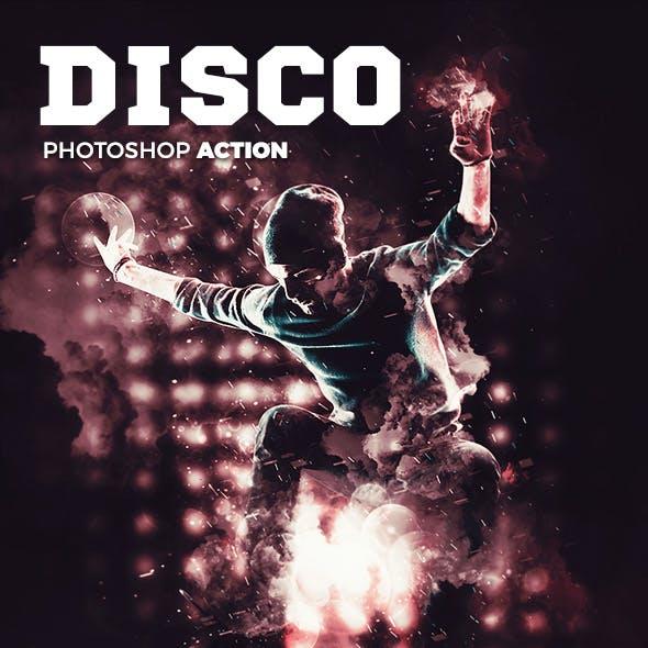 Disco Photoshop Action