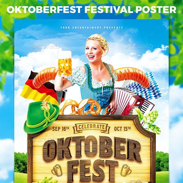 Oktoberfest Festival Poster vol.7