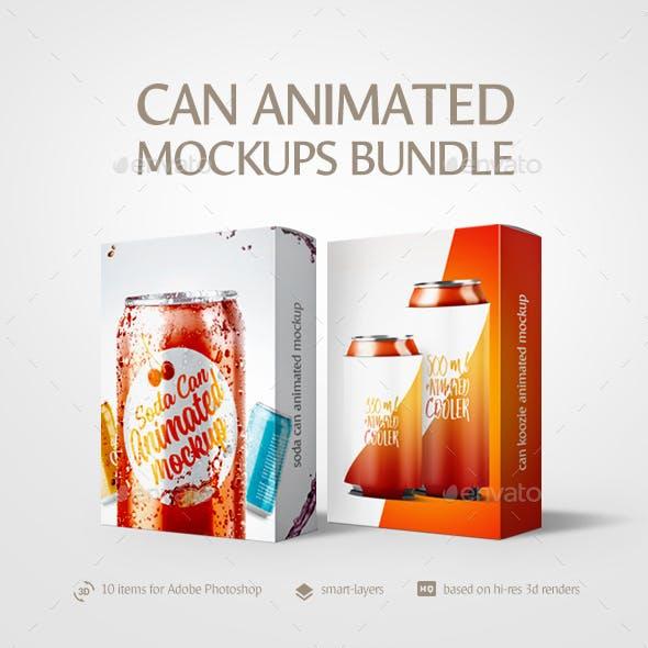 Can Animated Mockups Bundle