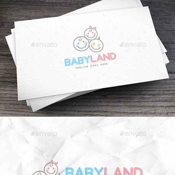 Babyland Logo Template